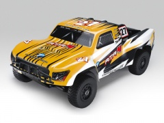 1: 8 Монстр-Трак RTA4 4WD short course truck S28 ДВС  (желтый)